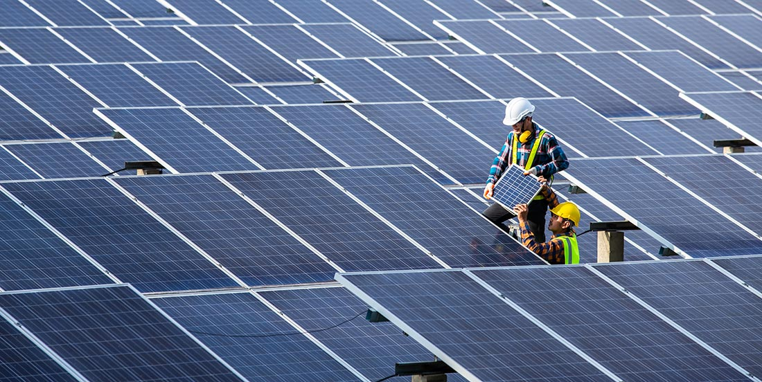 Aerial Drone Solar Inspections - Dronize
