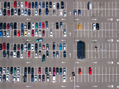 Aerial Parking Lot Inspections - Dronize