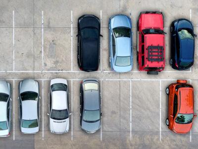 Property Management - Aerial Parking Lot Inspections 3 - Dronize