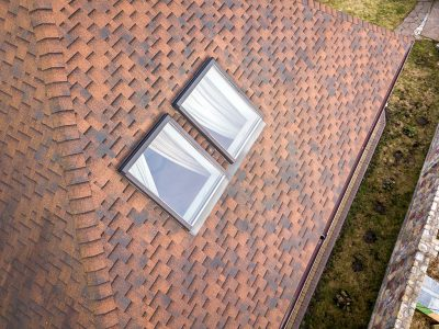Property Management - Aerial Roof Inspection - Dronize